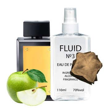Парфуми FLUID №3 (аромат схожий на Antonio Banderas The Golden Secret) Чоловічі 110 ml