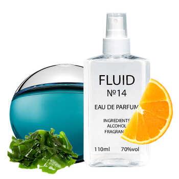 Парфуми FLUID №14 (аромат схожий на Bvlgari Aqva Pour Homme) Чоловічі 110 ml
