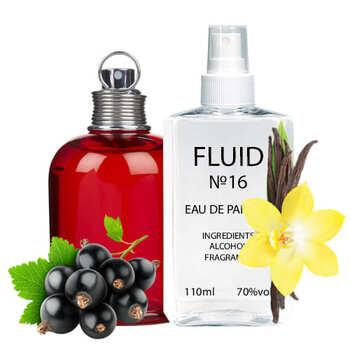 Парфуми FLUID №16 (аромат схожий на Cacharel Amor Amor) Жіночі 110 ml