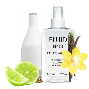 Парфуми FLUID №18 (аромат схожий на Calvin Klein CK In2U Yer) Жіночі 110 ml