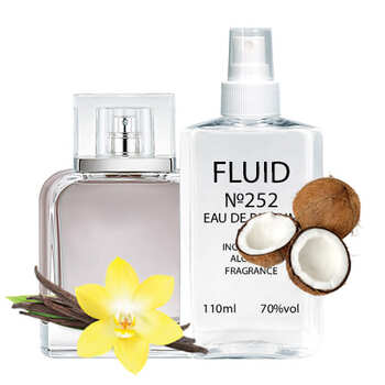 Парфуми FLUID №252(аромат схожий на Calvin Klein Eternity Now) Чоловічі 110 ml