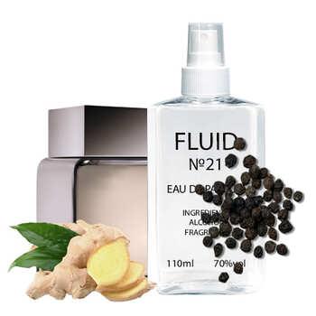 Парфуми FLUID №21 (аромат схожий на Calvin Klein Euphoria Men) Чоловічі 110 ml
