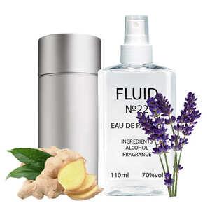 Парфуми FLUID №22 (аромат схожий на Carolina Herrera 212 Men) Чоловічі 110 ml