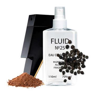 Парфуми FLUID №25 (аромат схожий на Carolina Herrera Bad Boy) Чоловічі 110 ml