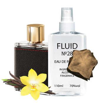 Парфуми FLUID №28 (аромат схожий на Carolina Herrera CH Men) Чоловічі 110 ml