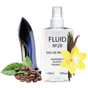 Парфуми FLUID №29 (аромат схожий на Carolina Herrera Good Girl) Жіночі 110 ml