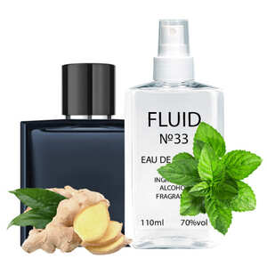 Парфуми FLUID №33 (аромат схожий на Chanel Bleu de Chanel) Чоловічі 110 ml