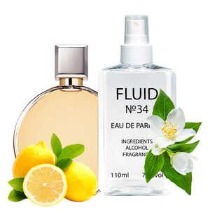 Парфуми FLUID №34 (аромат схожий на Chanel Chance) Жіночі 110 ml