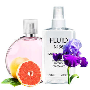 Парфуми FLUID №36 (аромат схожий на Chanel Chance Eau Tendre) Жіночі 110 ml