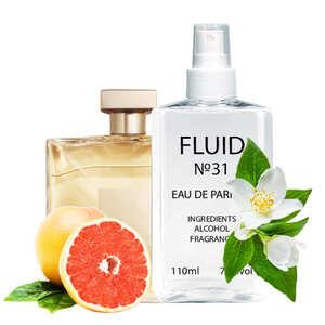 Парфуми FLUID №31 (аромат схожий на Chanel Gabrielle) Жіночі 110 ml