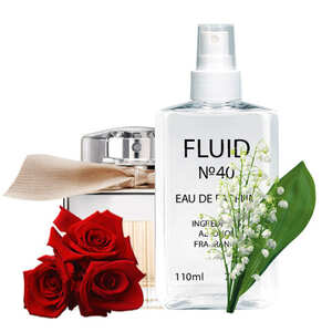 Парфуми FLUID №40 (аромат схожий на Chloe Eau De Parfum) Жіночі 110 ml