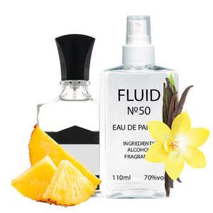 Парфуми FLUID №50 (аромат схожий на Creed Aventus) Чоловічі 110 ml