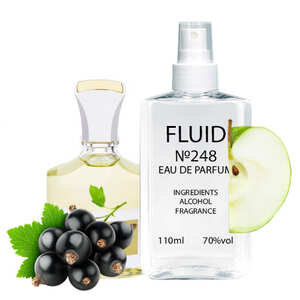 Парфуми FLUID №248 (аромат схожий на Creed Aventus For Her) Жіночі 110 ml