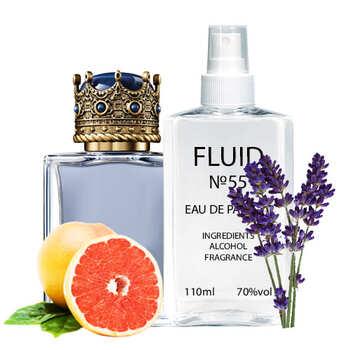 Парфуми FLUID №55 (аромат схожий на Dolce&Gabbana K By Dolce&Gabbana) Чоловічі 110 ml