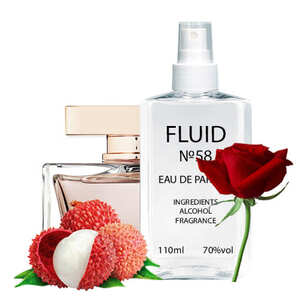 Парфуми FLUID №58 (аромат схожий на Dolce&Gabbana Rose The One) Жіночі 110 ml