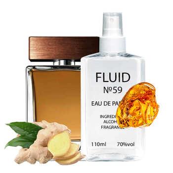 Парфуми FLUID №59 (аромат схожий на Dolce&Gabbana The One For Men) Чоловічі 110 ml
