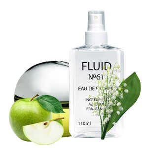 Парфуми FLUID №61 (аромат схожий на Donna Karan New York Be Delicious) Жіночі 110 ml