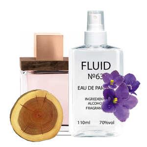 Парфуми FLUID №63 (аромат схожий на Dsquared2 She Wood) Жіночі 110 ml