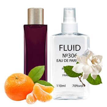 Парфуми FLUID №306 (аромат схожий на Lacoste Pour Femme Elixir) Жіночі 110 ml