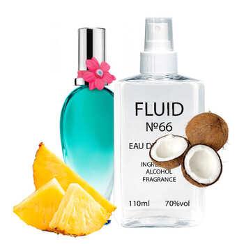 Парфуми FLUID №66 (аромат схожий на Escada Born in Paradise) Жіночі 110 ml