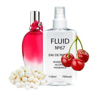 Парфуми FLUID №67 (аромат схожий на Escada Cherry In The Air) Жіночі 110 ml