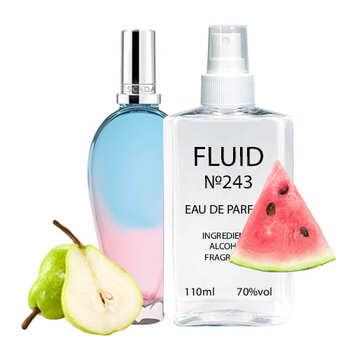 Парфуми FLUID №243 (аромат схожий на Escada Sorbetto Rosso) Жіночі 110 ml