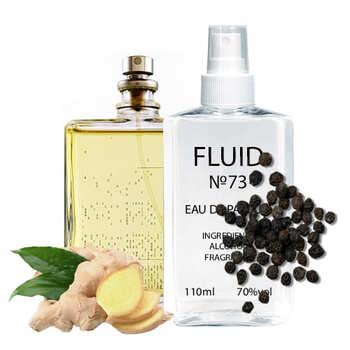 Парфуми FLUID №73 (аромат схожий на Escentric Molecules Molecule 03) Унісекс 110 ml