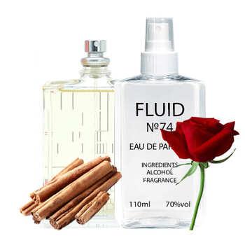 Парфуми FLUID №74 (аромат схожий на Escentric Molecules Molecule 04) Унісекс 110 ml
