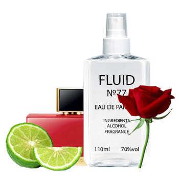 Парфуми FLUID №77 (аромат схожий на Fendi L'acquarossa) Жіночі 110 ml