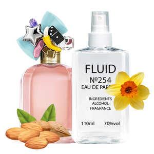 Парфуми FLUID №254 (аромат схожий на Marc Jacobs Perfect) Жіночі 110 ml
