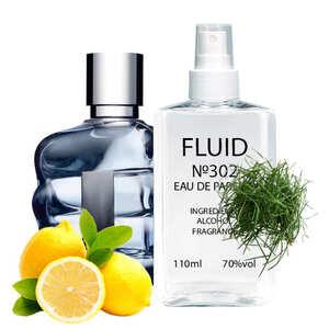 Парфуми FLUID №302 (аромат схожий на Diesel Only The Brave) Чоловічі 110 ml