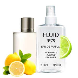 Парфуми FLUID №79 (аромат схожий на Giorgio Armani Acqua Di Gio) Чоловічі 110 ml