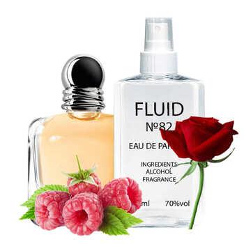Парфуми FLUID №82 (аромат схожий на Giorgio Armani Emporio Armani Because It's You) Жіночі 110 ml