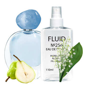 Парфуми FLUID №256 (аромат схожий на Giorgio Armani Ocean di Gioia) Жіночі 110 ml