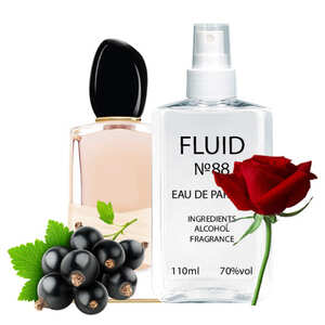 Парфуми FLUID №88 (аромат схожий на Giorgio Armani Si Rose Signature) Жіночі 110 ml