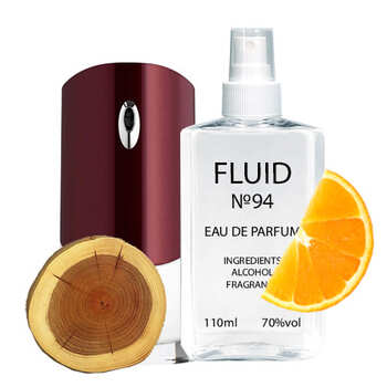 Парфуми FLUID №94 (аромат схожий на Givenchy Pour Homme) Чоловічі 110 ml