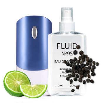 Парфуми FLUID №95 (аромат схожий на Givenchy Pour Homme Blue Label) Чоловічі 110 ml