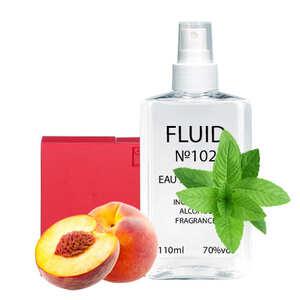 Парфуми FLUID №102 (аромат схожий на Gucci Rush For Women) Жіночі 110 ml