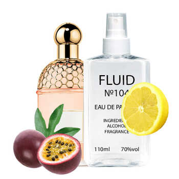 Парфуми FLUID №104 (аромат схожий на Guerlain Aqua Allegoria Passiflora) Унісекс 110 ml
