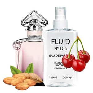 Парфуми FLUID №106 (аромат схожий на Guerlain La Petite Robe Noire) Жіночі 110 ml