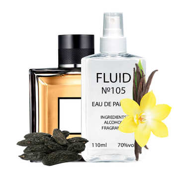 Парфуми FLUID №105 (аромат схожий на Guerlain L'Homme Ideal) Чоловічі 110 ml
