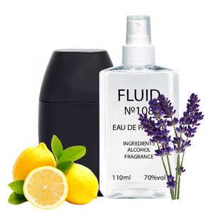 Парфуми FLUID №108 (аромат схожий на Guy Laroche Drakkar Noir) Чоловічі 110 ml