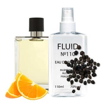 Парфуми FLUID №110 (аромат схожий на Hermes Terre D'Hermes) Чоловічі 110 ml