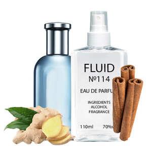 Парфуми FLUID №114 (аромат схожий на Hugo Boss Bottled Tonic) Чоловічі 110 ml