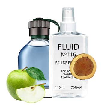 Парфуми FLUID №116 (аромат схожий на Hugo Boss Hugo Man Extreme) Чоловічі 110 ml