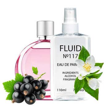 Парфуми FLUID №117 (аромат схожий на Hugo Boss Hugo Woman Extreme) Жіночі 110 ml
