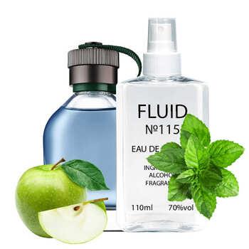 Парфуми FLUID №115 (аромат схожий на Hugo Boss Hugo) Чоловічі 110 ml