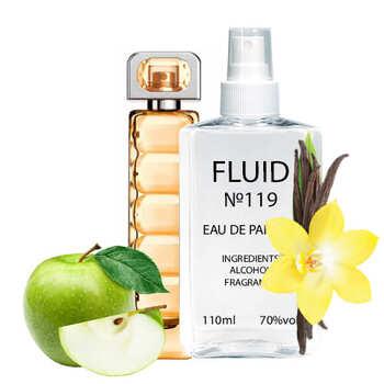 Парфуми FLUID №119 (аромат схожий на Hugo Boss Boss Orange) Жіночі 110 ml
