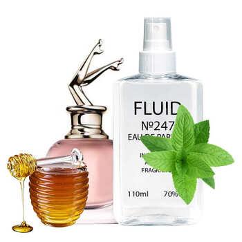 Парфуми FLUID №247 (аромат схожий на Jean Paul Gaultier Scandal) Жіночі 110 ml
