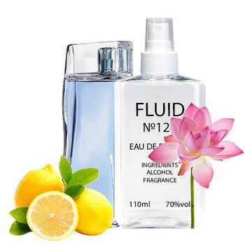 Парфуми FLUID №124 (аромат схожий на Kenzo L'eau Par Kenzo Pour Homme) Чоловічі 110 ml